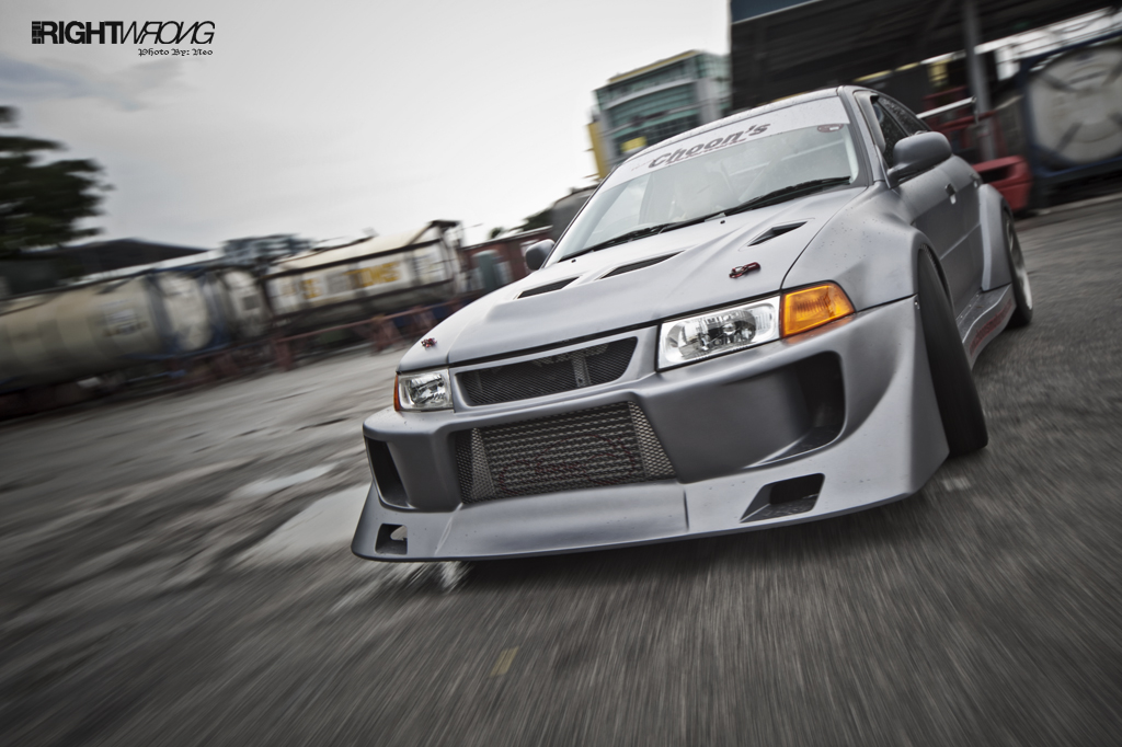 Feature : Choon's Motor works Time Attack Evo 5 | The Right Wrong