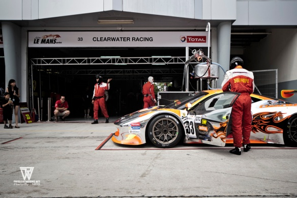 Clearwater Racing Ferrari 458