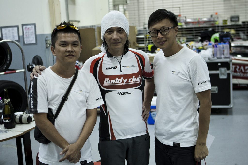 Picture with the man behind Team AAI - Chen Jun San